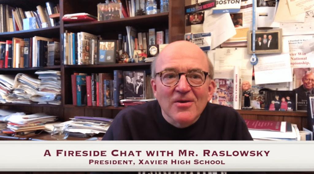 Jack Raslowsky, President of Xavier High School video